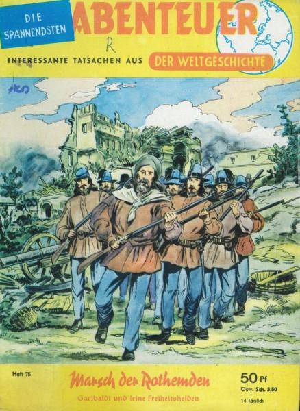 Abenteuer der Weltgeschichte 75 (Z1-2 St, Sz), Lehning