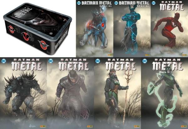 Batman Metal - Metallbox mit 7 Variantausgaben (lim. 666 Expl.), Panini