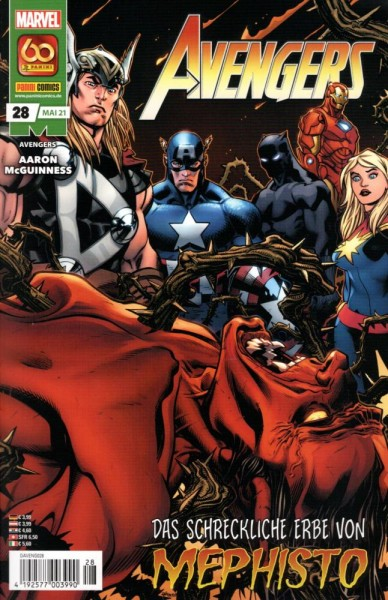 Avengers (2019) 28, Panini