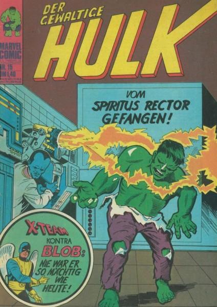 Hulk 15 (Z1), Williams