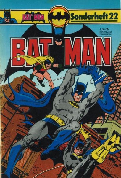 Batman Sonderheft 22 (Z2), Ehapa