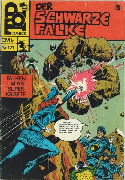 Top Comics - Der schwarze Falke 121 (Z2-3, SZ), bsv