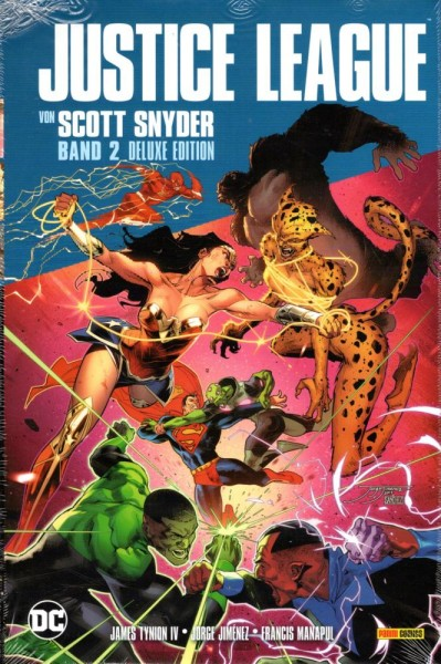 Justice League von Scott Snyder 2 Deluxe Edition, Panini