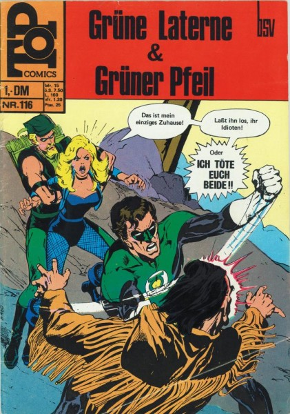 Top Comics - Die Grüne Laterne 116 (Z1), bsv