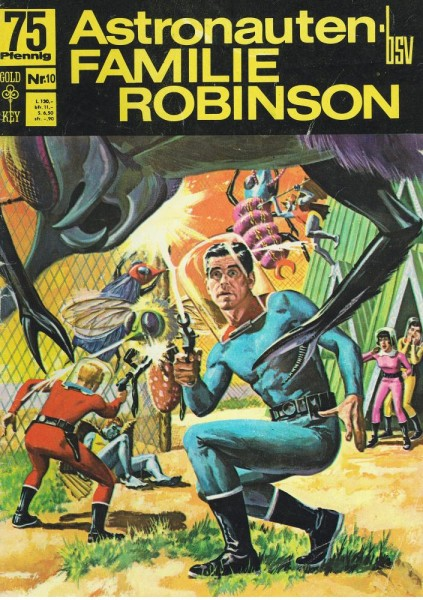 Astronautenfamilie Robinson 10 (Z1-2), bsv