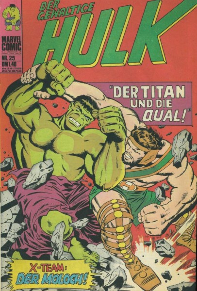Hulk 25 (Z1), Williams