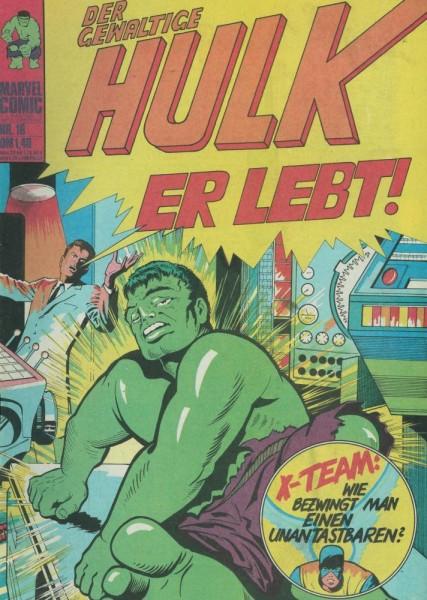Hulk 16 (Z1), Williams