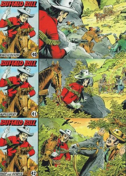 Buffalo Bill 40-42, Wildfeuer