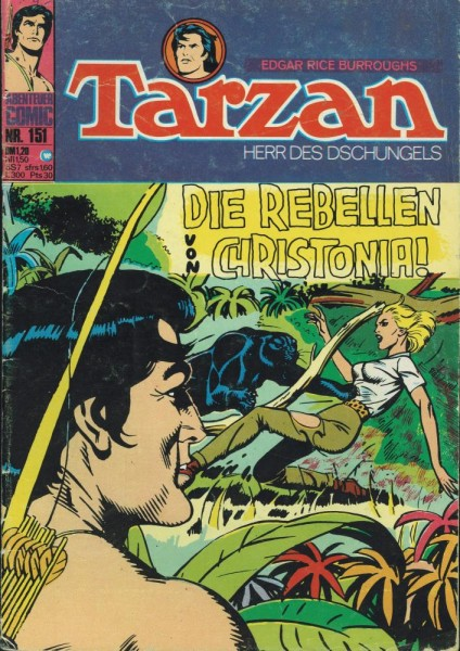 Tarzan 151 (Z1-2), Williams