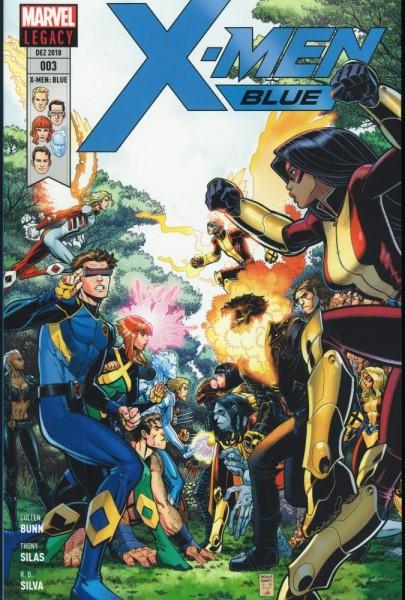 X-Men Blue 3, Panini