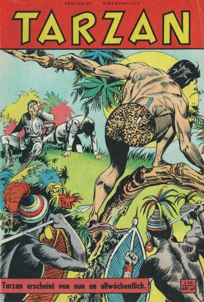 Tarzan 116 (Z1-2), Mondial