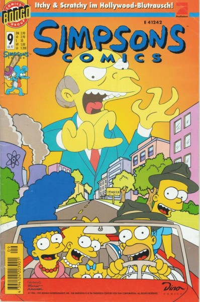 Simpsons Comics 9 (Z1), Panini