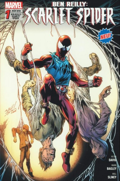 Ben Reilly - Scarlet Spider 1, Panini