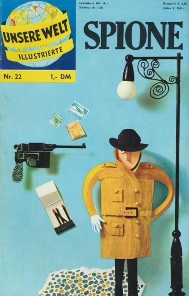 Unsere Welt Illustrierte 22 (Z1-), bsv
