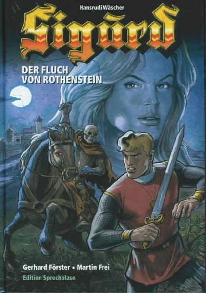Sigurd - Der Fluch von Rothenstein Neuauflage (Z0), Edition Sprechblase