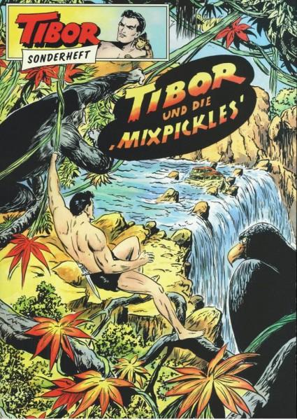 Tibor Sonderheft 4 - Tibor und die 'Mixpickles', Wildfeuer