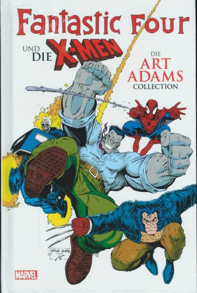 Fantastic Four & die X-Men - Die Art Adams-Collection (lim. 444 Expl.), Panini
