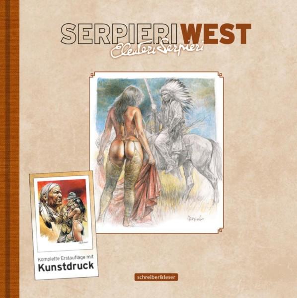 Serpieri West Artbook, schreiber&leser