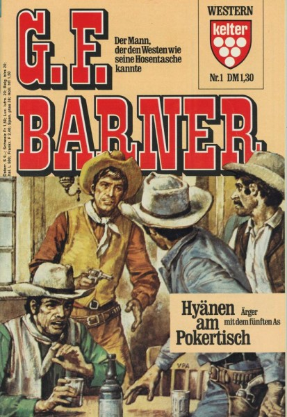 G.F. Barner 1-77 (Z0-1), Diverse
