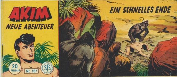 Akim neue Abenteuer Piccolo 187 (Z1-), Lehning