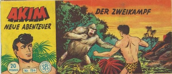 Akim neue Abenteuer Piccolo 184 (Z1-,), Lehning