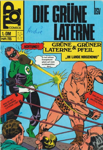 Top Comics - Die Grüne Laterne 115 (Z1-2, SZ), bsv