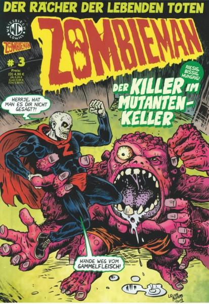 Zombieman 3, Weissblech