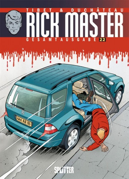 Rick Master Gesamtausgabe 22, Splitter
