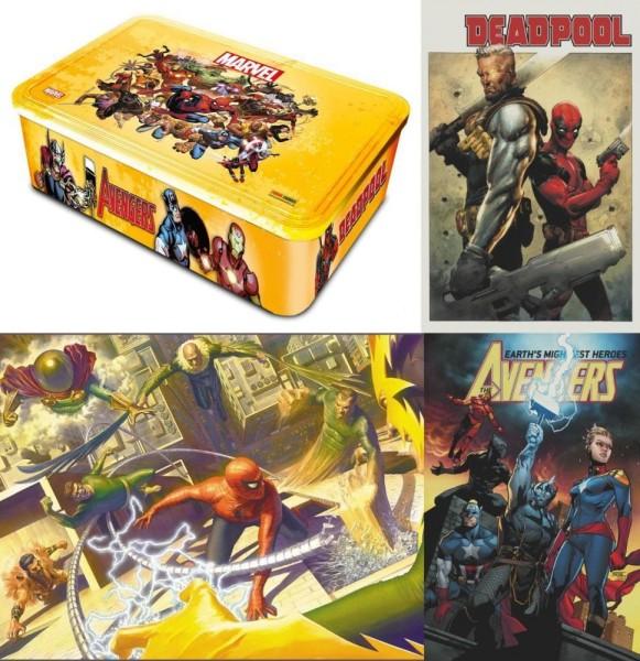 Marvel Neustart - Die Variant - Metallbox (lim. 999 Expl.), Panini