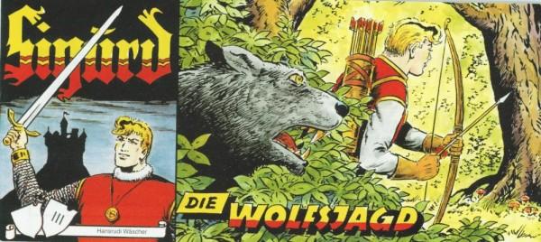 Sigurd Piccolo, Die Wolfsjagd (Z0, Beilage Sprechblase), Hethke