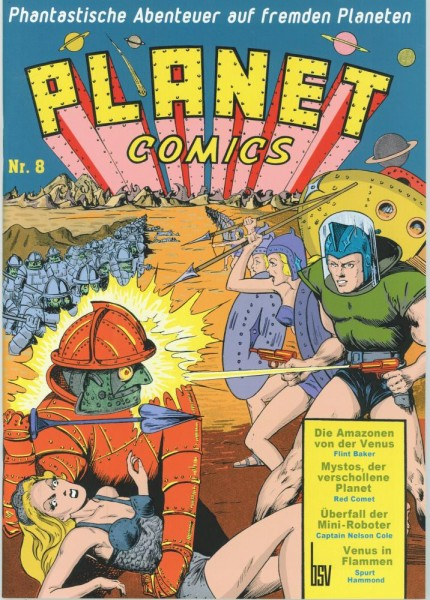 Planet Comics 8, bsv Hannover