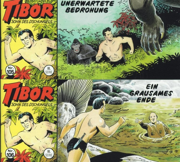 Tibor 3. Serie 105-106, Wildfeuer