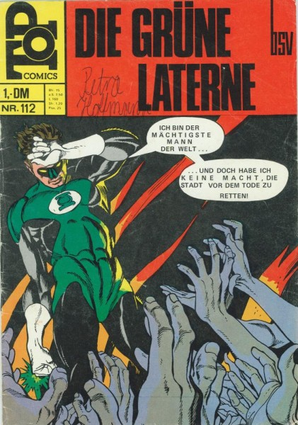 Top Comics - Die Grüne Laterne 112 (Z1-2, SZ), bsv