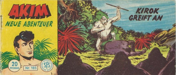 Akim neue Abenteuer Piccolo 185 (Z1-2,SM; SZ), Lehning