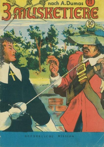 3 Musketiere 11 (Z1-2), Verlag für moderne Literatur