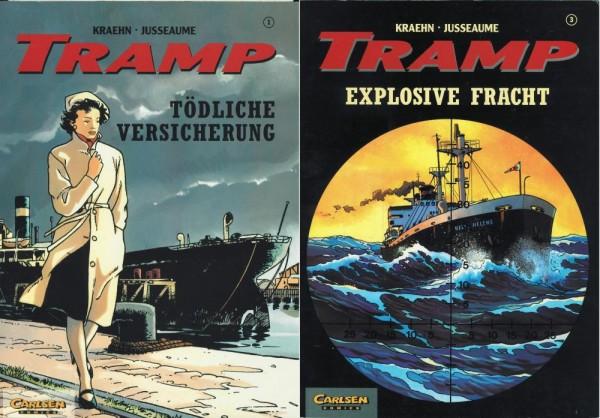 Tramp 1-3 (Z1, 1. Auflage), Carlsen