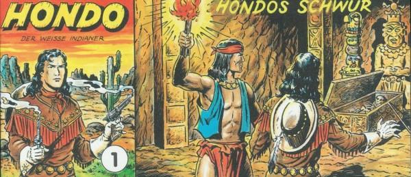 Hondo - Der weisse Indianer Konvolut (Z0), Diverse