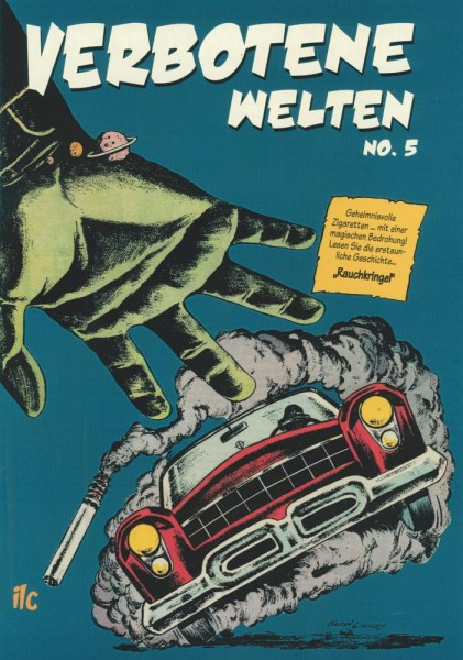 Verbotene Welten 5, ilovecomics Verlag