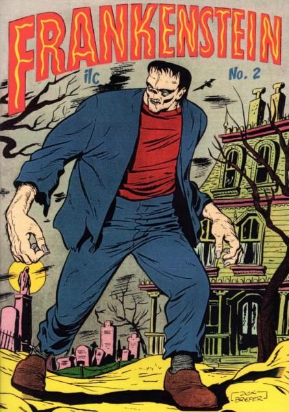 Frankenstein 2, ilovecomics Verlag