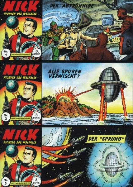 Nick 3. Serie Zusammendrucke 1-46, Ingraban Ewald