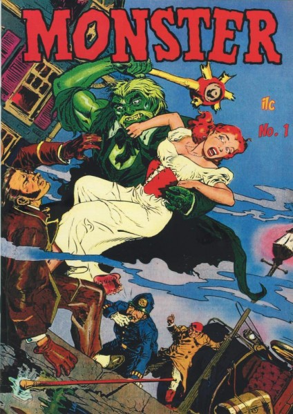 Monster 1, ilovecomics Verlag