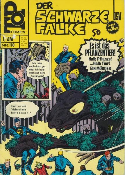 Top Comics - Der schwarze Falke 110 (Z2, SZ), bsv