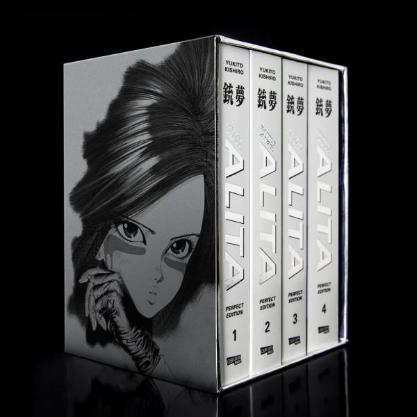Battle Angel Alita - Perfect Edition 1-4 im Schuber mit Extra, Carlsen