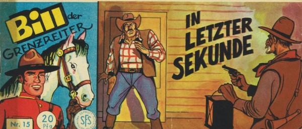 Bill der Grenzreiter 15 (Z1-), Lehning