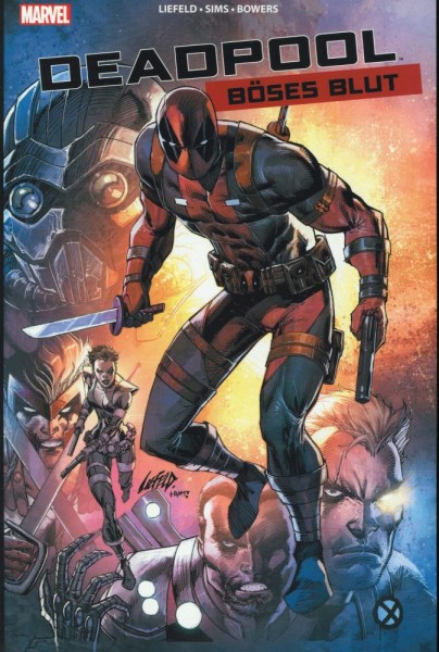 Deadpool - Böses Blut, Panini