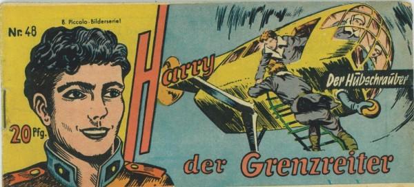 Harry der Grenzreiter 48 (Z1-2), Lehning