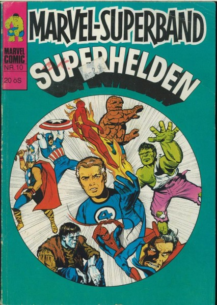 Marvel-Superband Superhelden 10 (Z1-2, Sz), Williams