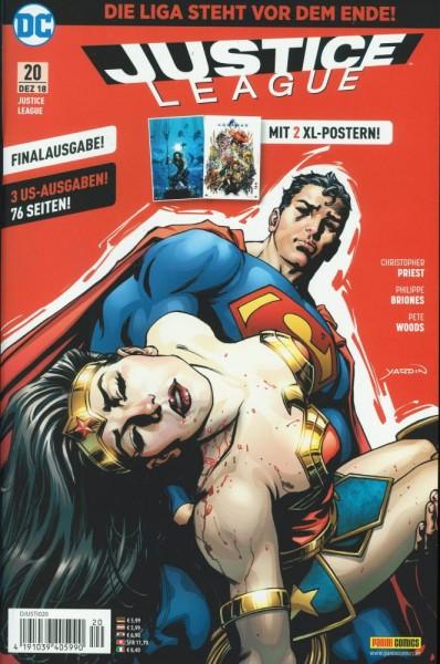 Justice League Rebirth 20, Panini