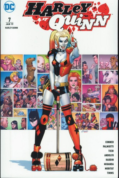 Harley Quinn Rebirth 7, Panini