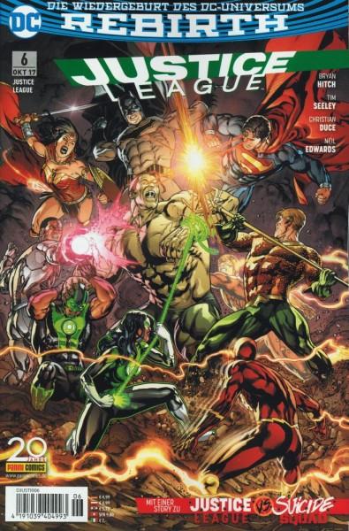 Justice League Rebirth 6, Panini